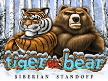 Автомат Тигр Против Медведя на рабочем зеркале клуба Вулкан